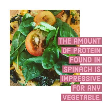 spinach is indeed a wonderful plant that can affect lifelong health and improve many bodily functions.