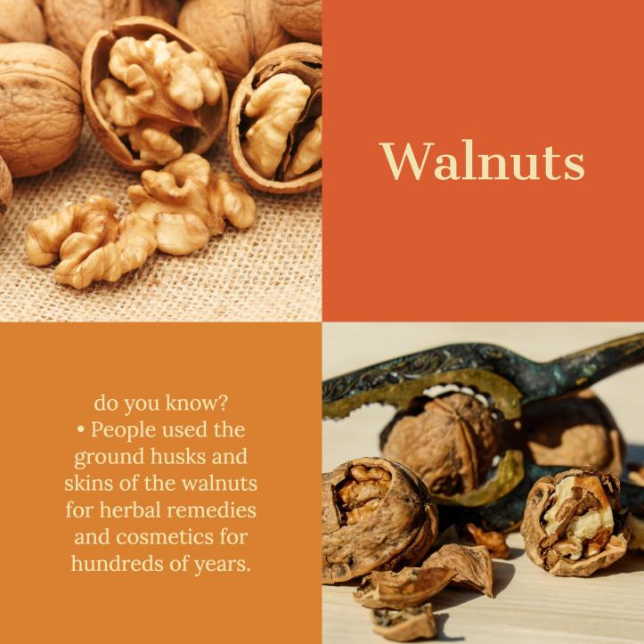 More than any other nut, walnuts have the highest concentrations of antioxidants—especially those bound to fiber.