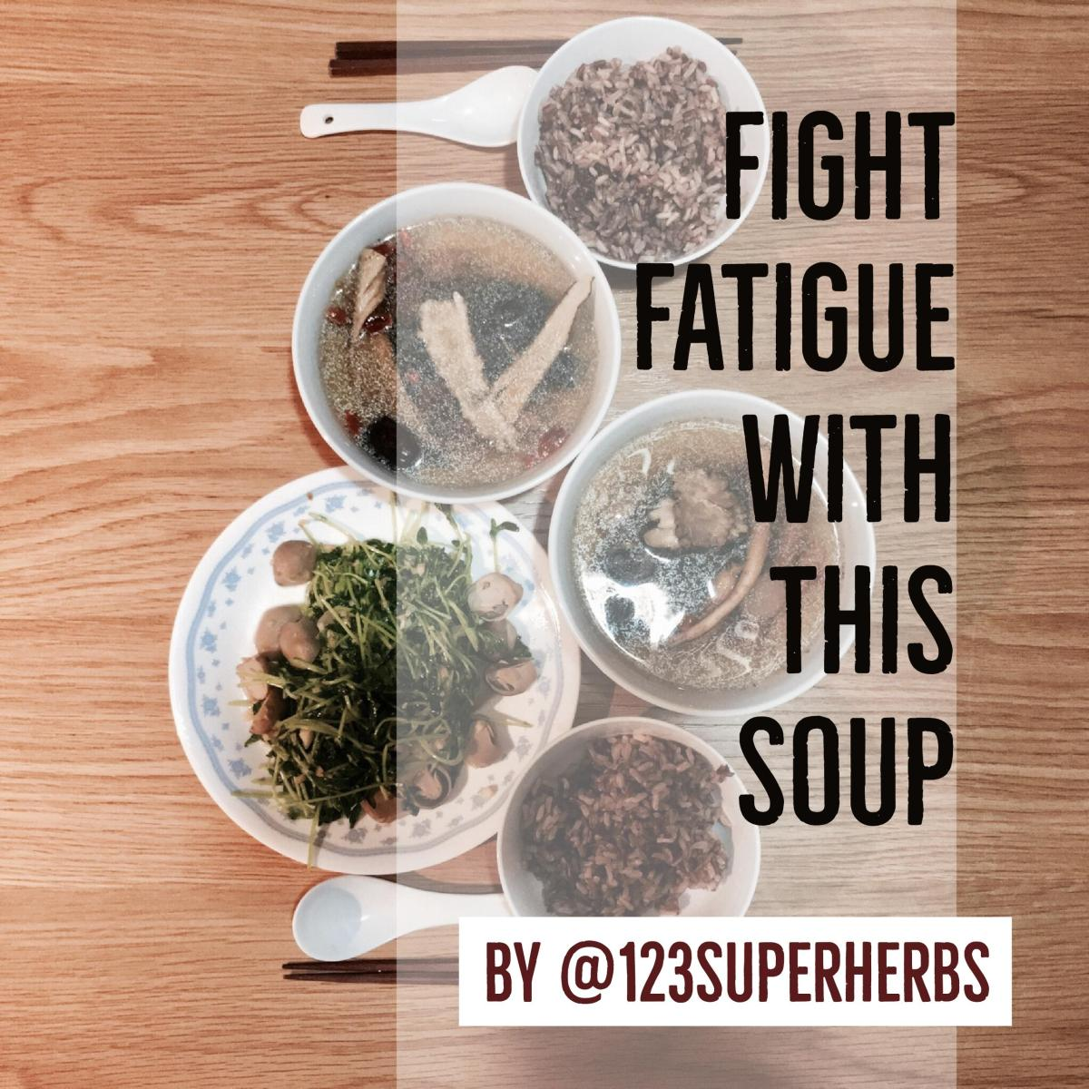 Fight Fatigue: The Black Gold Chicken Soup [滋补乌鸡汤]