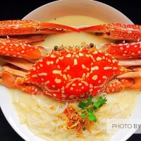 Home-made Flower Crab Bee Hoon