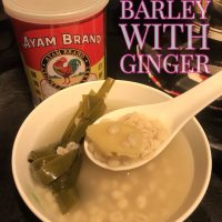 How barley water with ginger keeps you cool down and detox